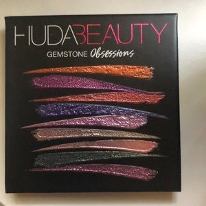 HUDA Beauty Gemstone Obsessions Palette Never Used